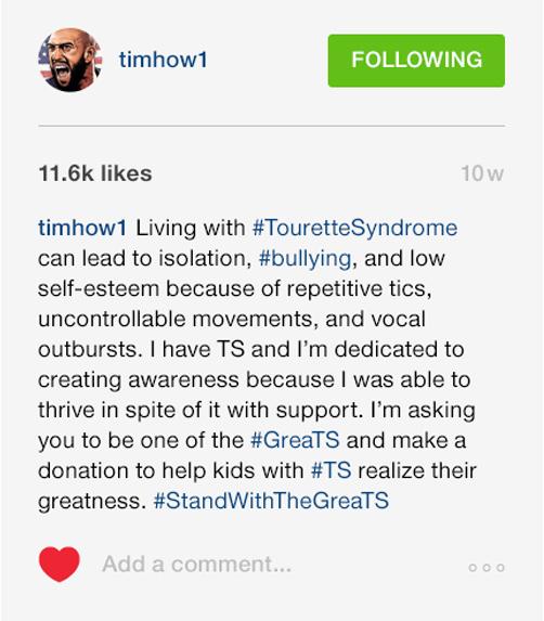 Tim Howard social post