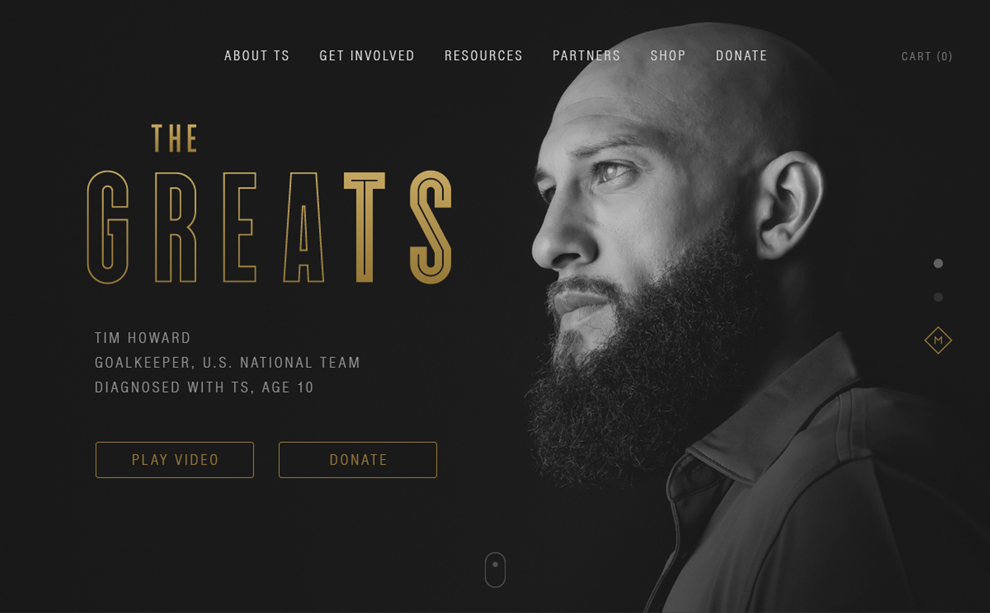 GreaTS website homepage