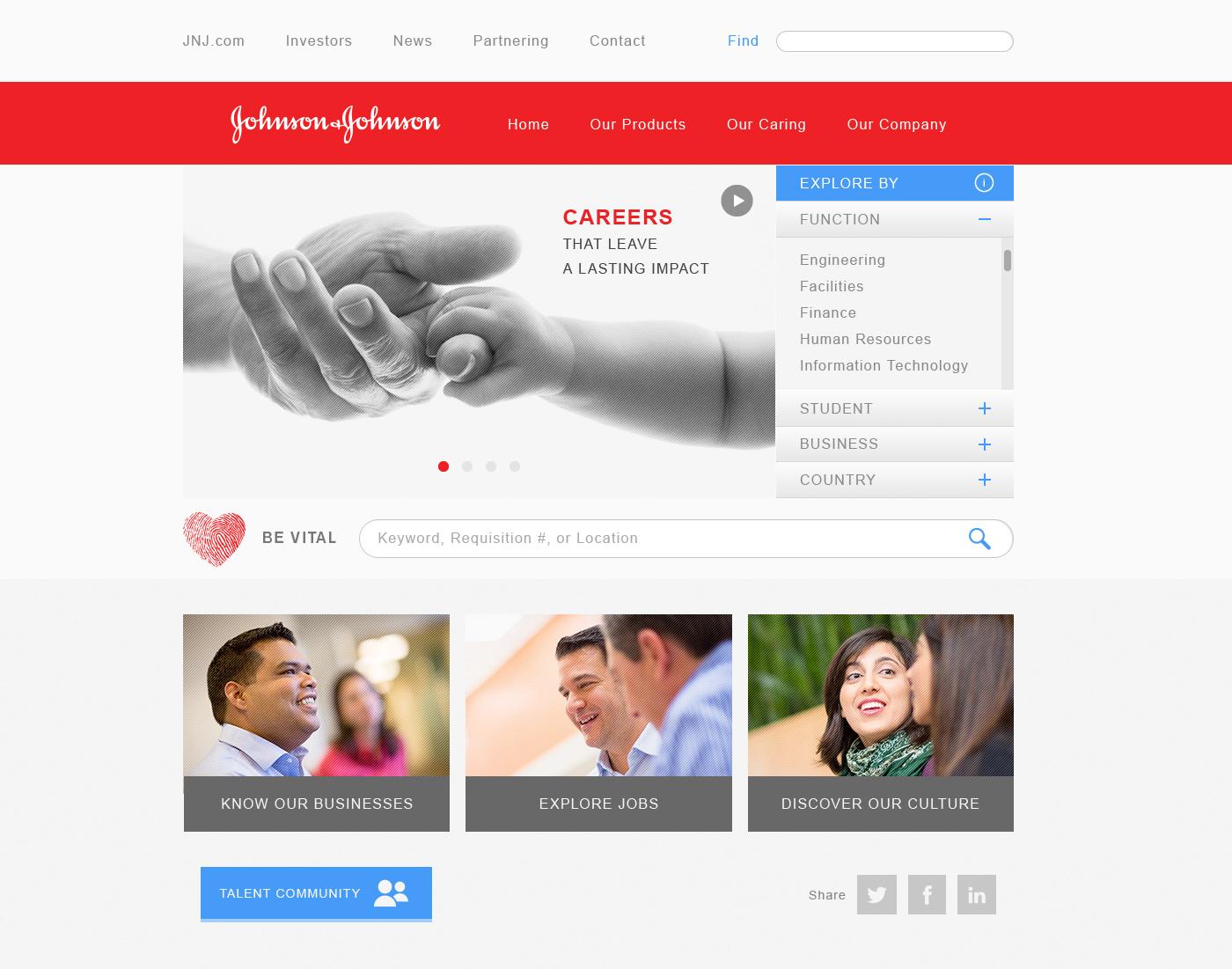employer branding web design