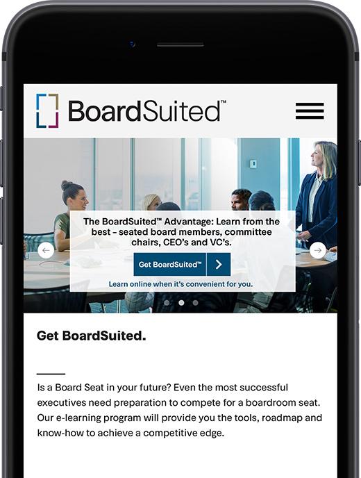 corporate responsive web design