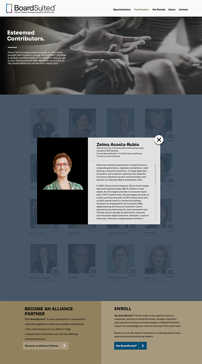 preparing women to serve as board of directors