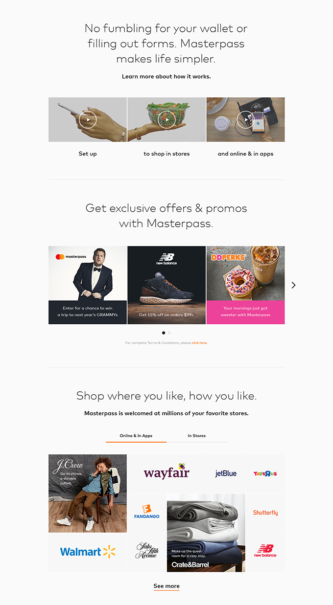 fintech mobile web design
