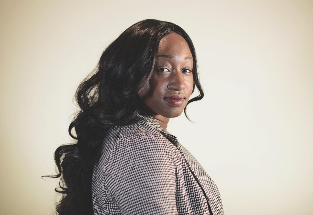 portrait of Lola Adeyemo