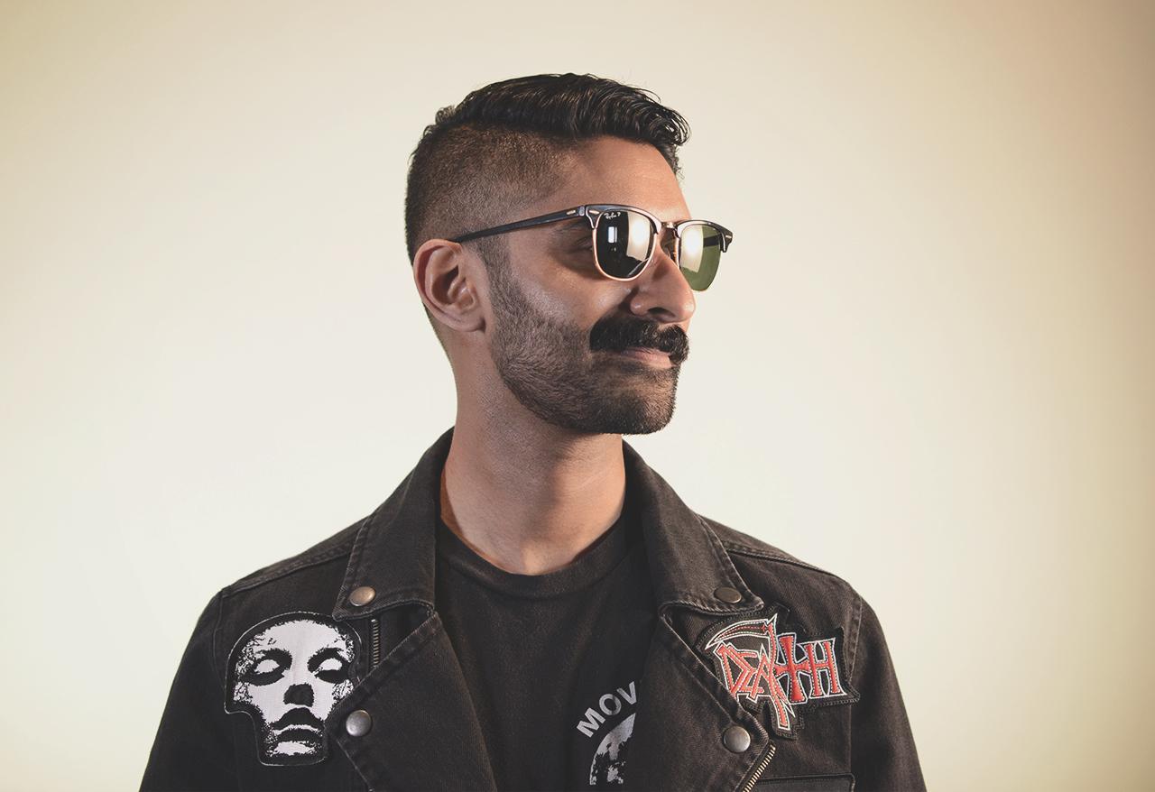 portrait of Rohan Mitra
