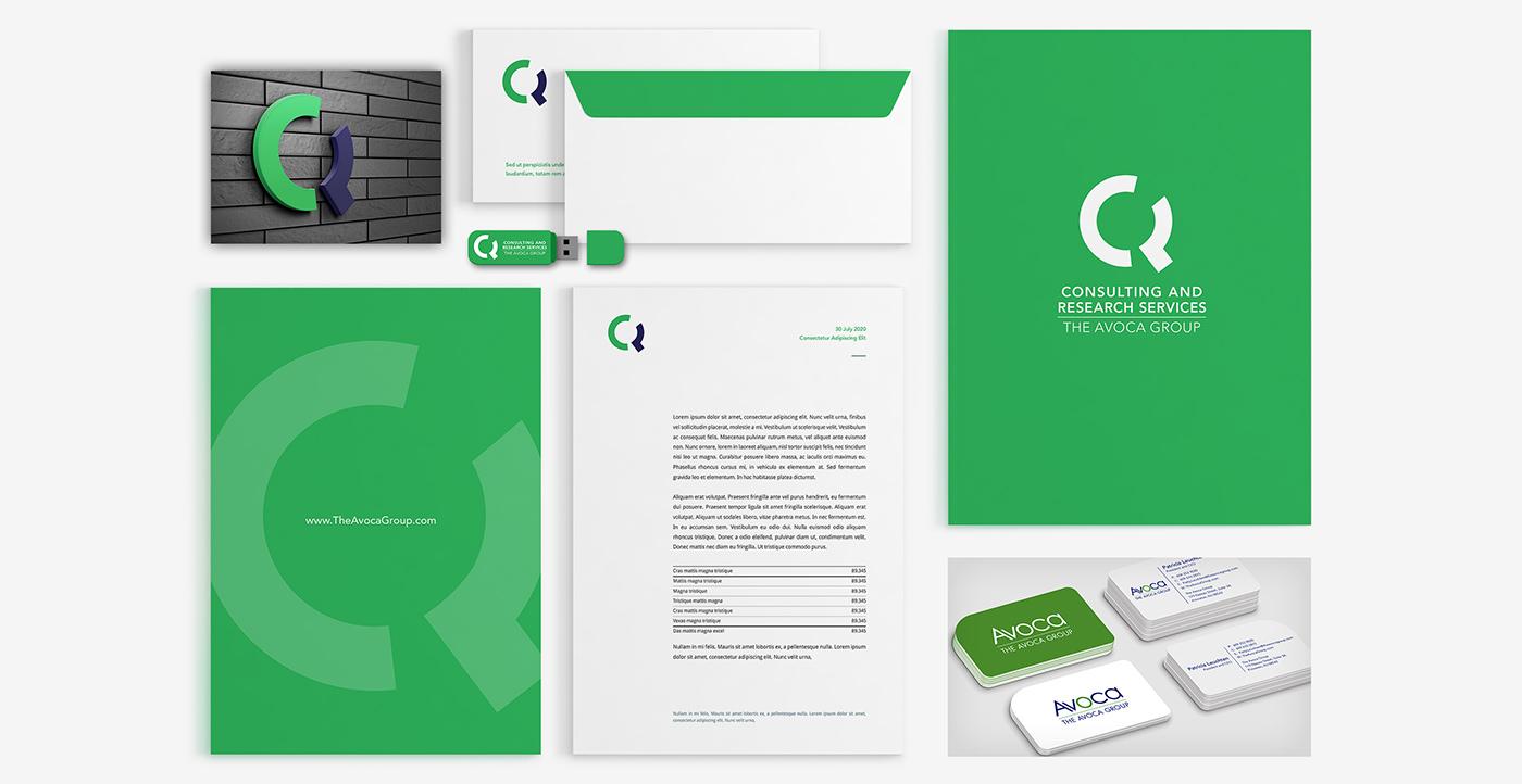 Healthcare Consulting Corporate Identity Branding