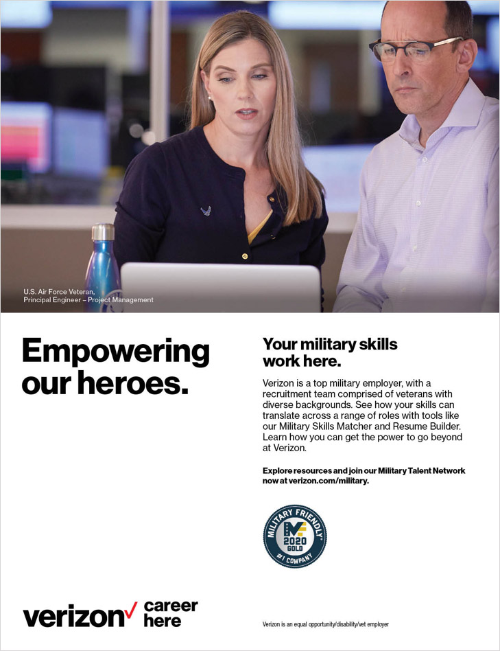 Military Career Ad
